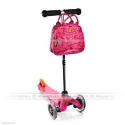 Hulajnoga Mini Micro różowa + różowa torebka Micro