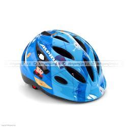 Kask rowerowy Alpina Gamma niebieski z piratem