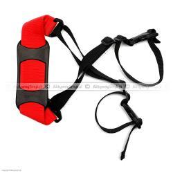 Pasek do noszenia rowerka albo hulajnogi czerwony