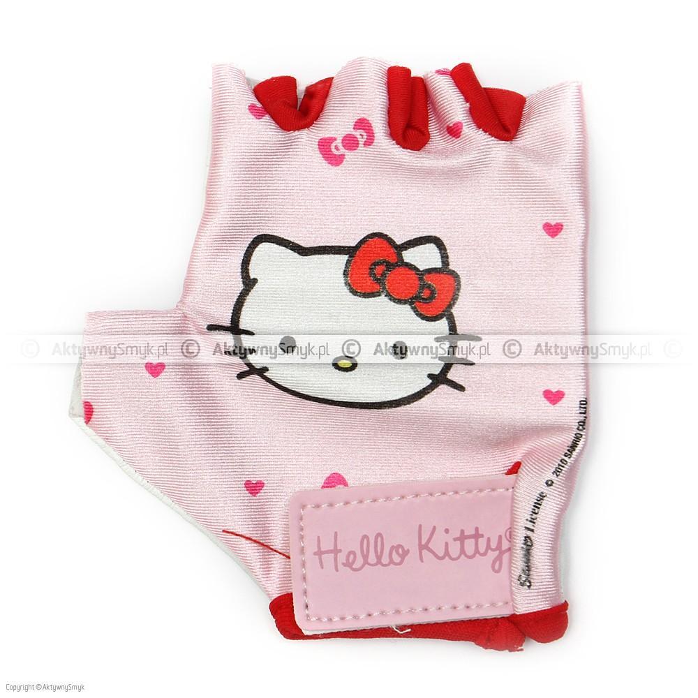 Rękawiczki rowerowe Hello Kitty
