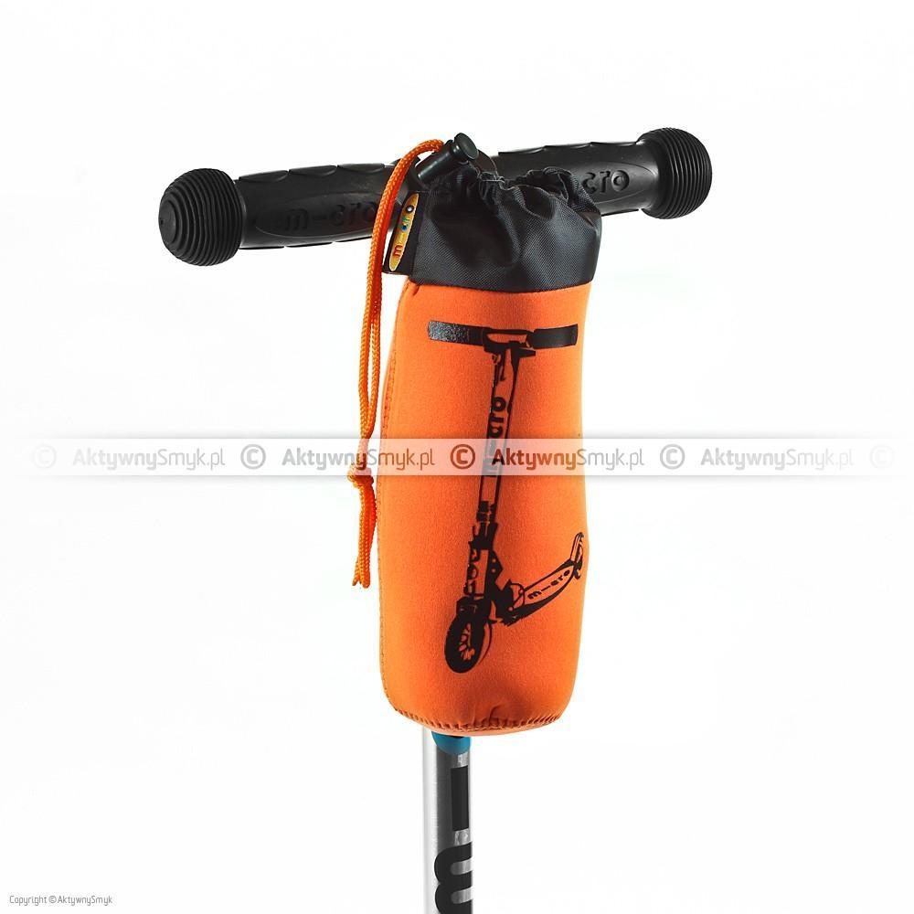 Torebka pomarańczowa na butelkę do hulajnogi Mini lub Maxi Micro