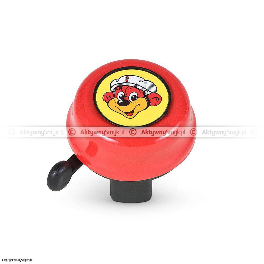Dzwonek Puky czerwony