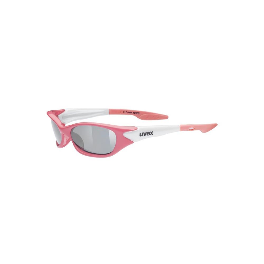 Okulary dziecięce Uvex Sporty różowe