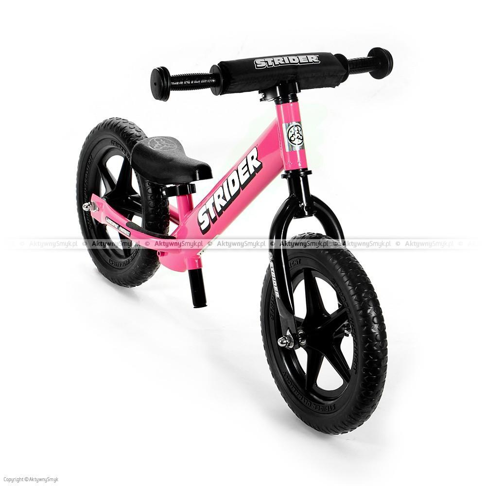 Rowerek biegowy STRIDER 12 Sport różowy