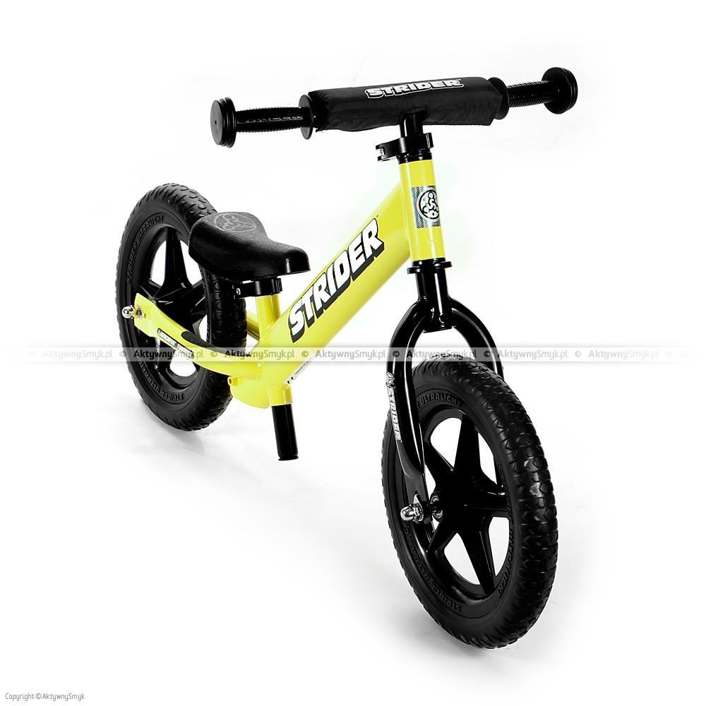 Rowerek biegowy STRIDER 12 Sport żółty