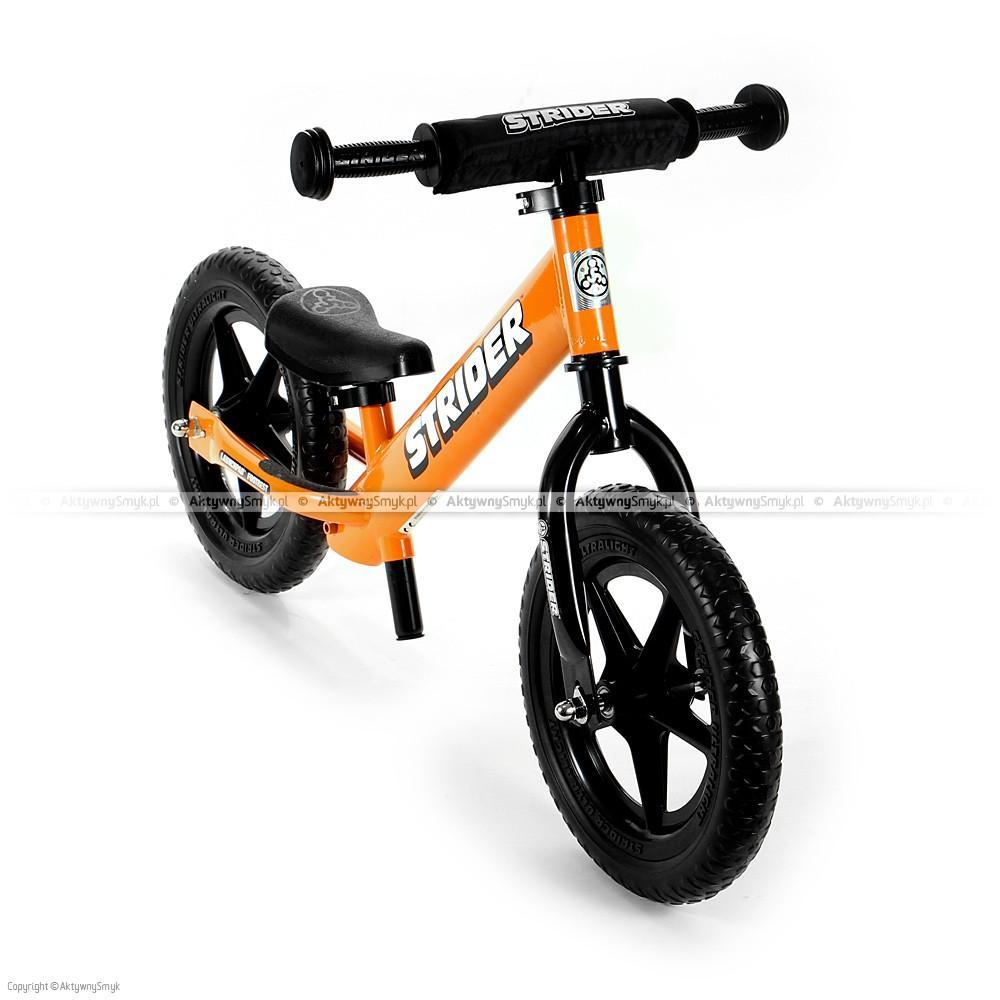 Rowerek biegowy STRIDER 12 Sport pomarańczowy