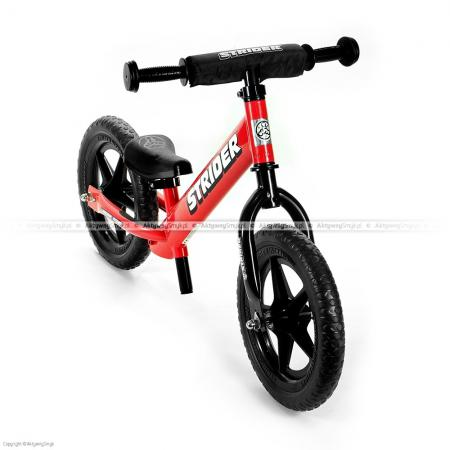 Rowerek biegowy STRIDER 12 Sport czerwony
