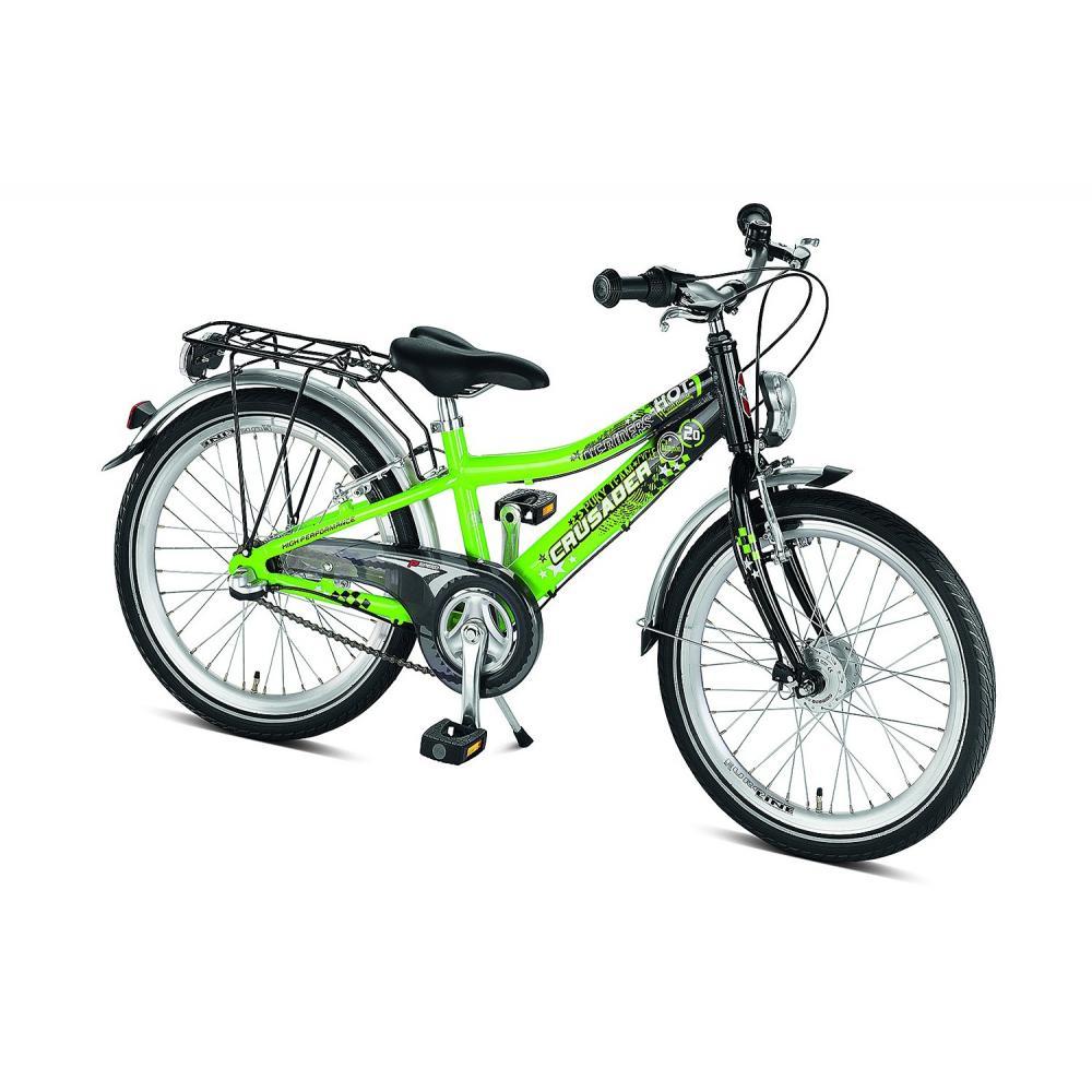 Rower Puky Crusader 20-3 zielono-czarny