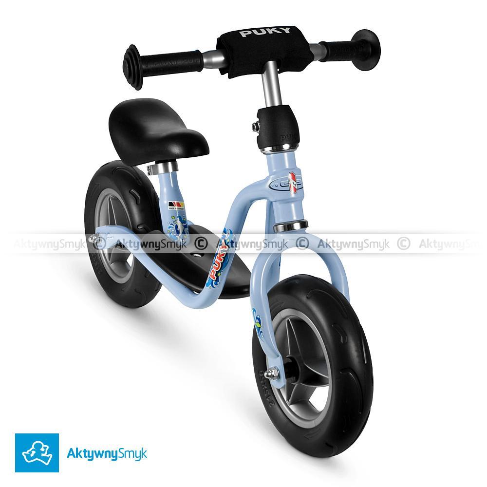 Rowerek bez peadałów PUKY LR M błękitny