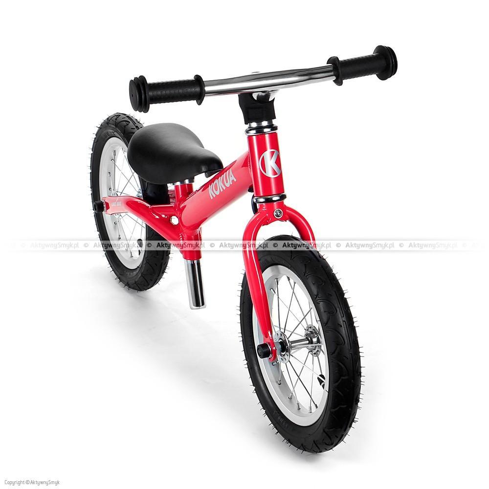Rowerek biegowy LIKEaBIKE Hardy czerwony