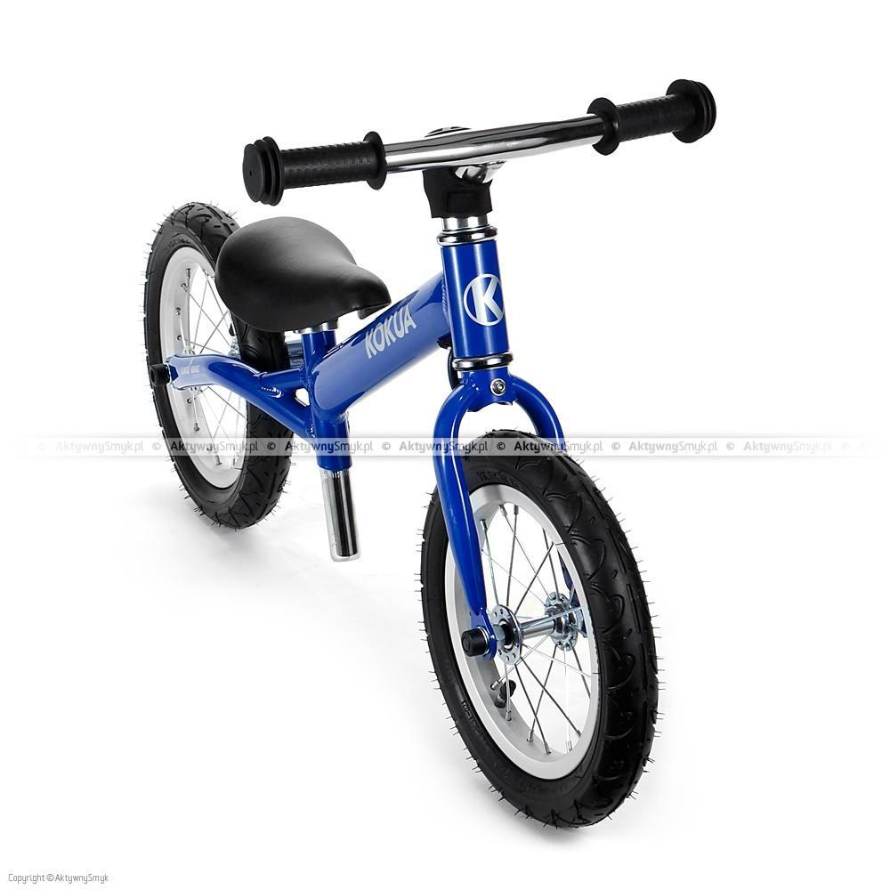 Rowerek biegowy LIKEaBIKE Hardy niebieski