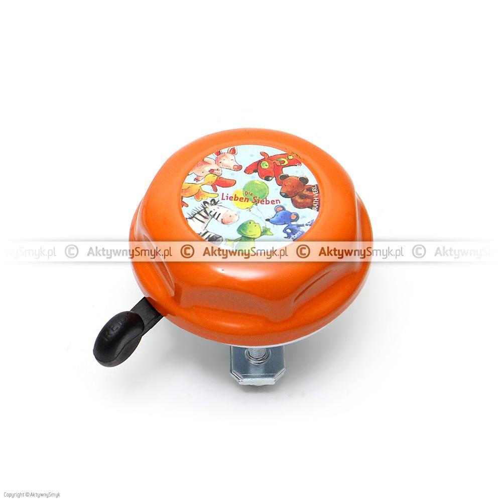 Dzwonek Die Lieben Sieben pomarańczowy
