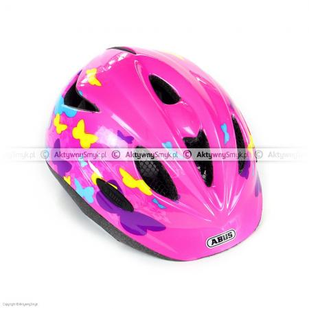 Kask Abus Rookie Butterfly Pink