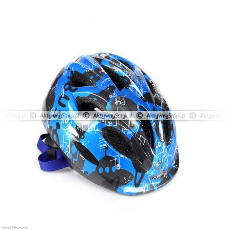 Kask Abus Smiley Robot Blue