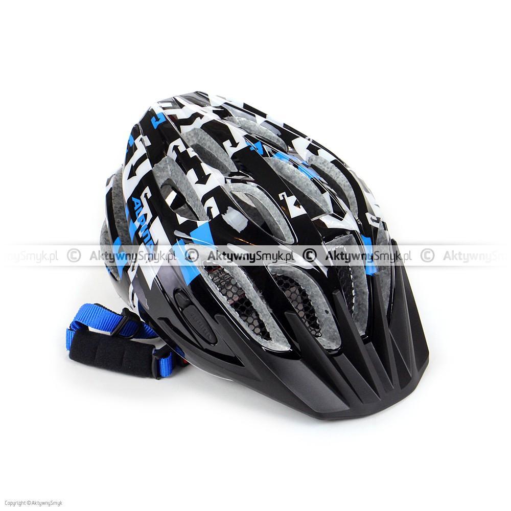 Kask Alpina FB Junior 2.0 Black-White-Blue