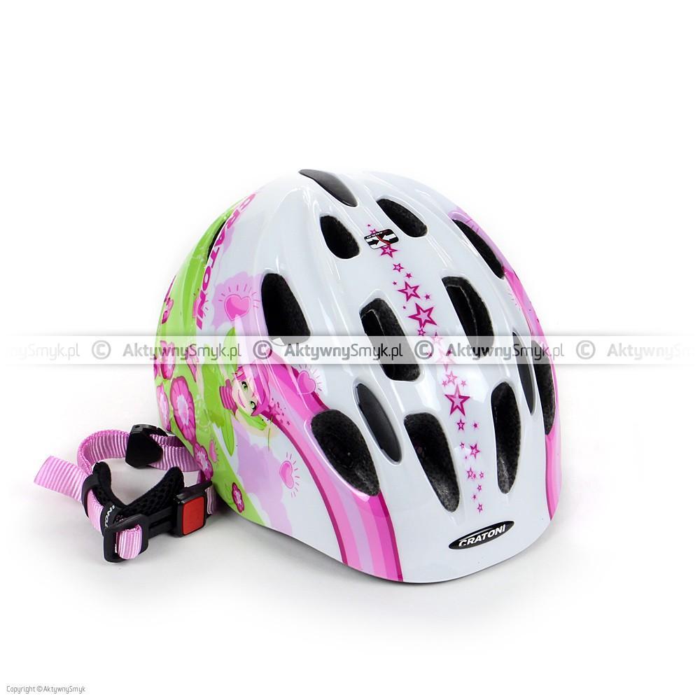 Kask Cratoni Akino 2 Fay white-pink glossy