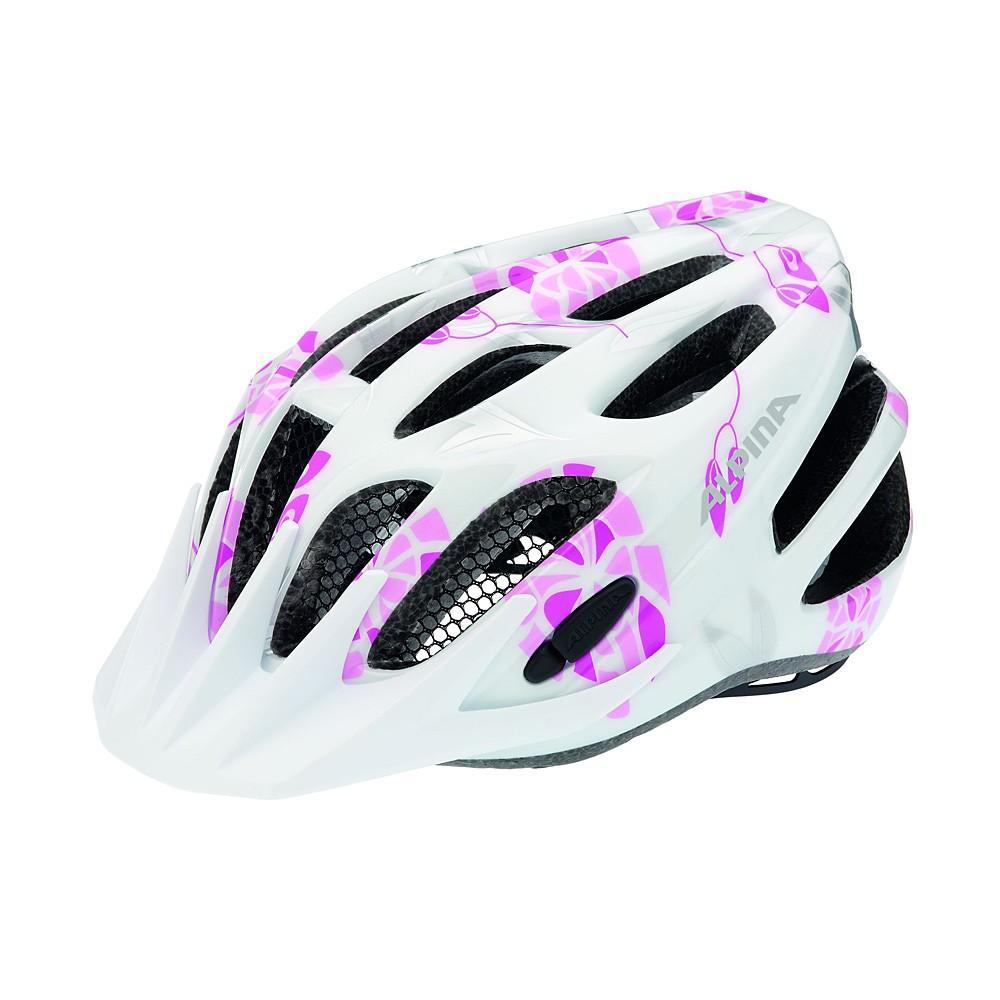Kask Alpina FB Junior 2.0 Flash White-Pink