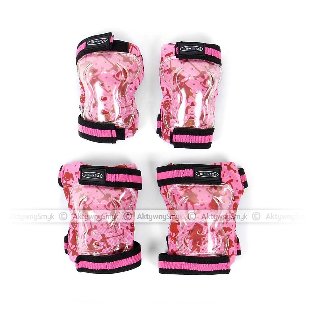 Ochraniacze Micro różowe