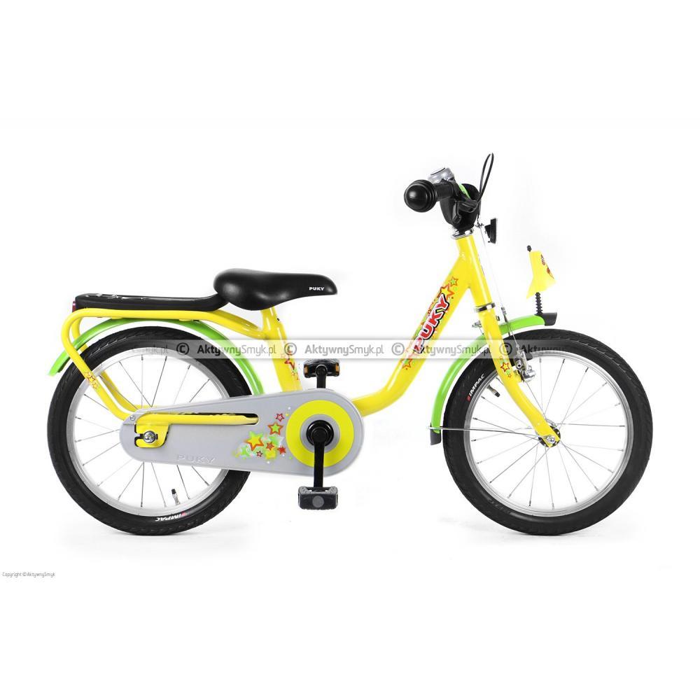 Rower Puky Z6 żółty