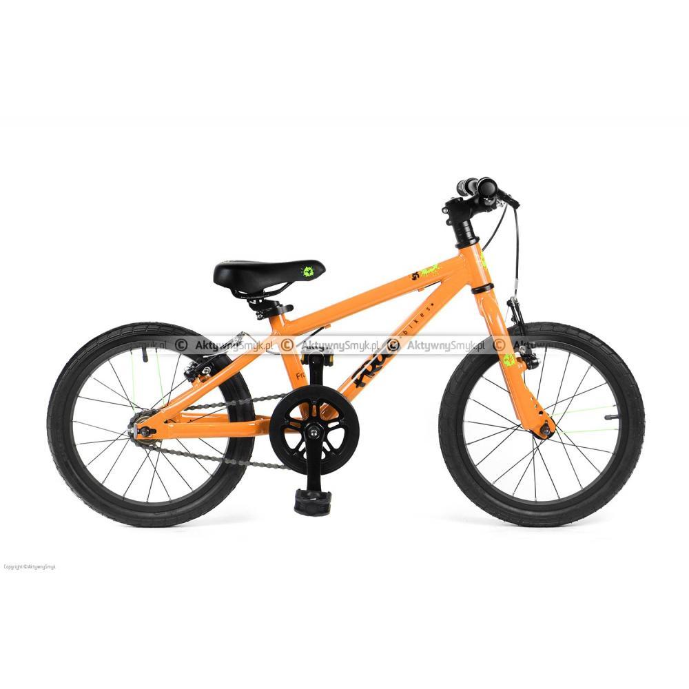 Rowerek Frog 48 pomarańczowy