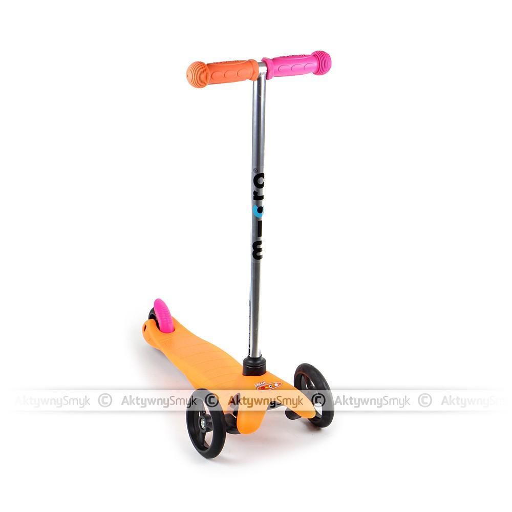 Hulajnoga Mini Micro Sporty Neon pomarańczowa