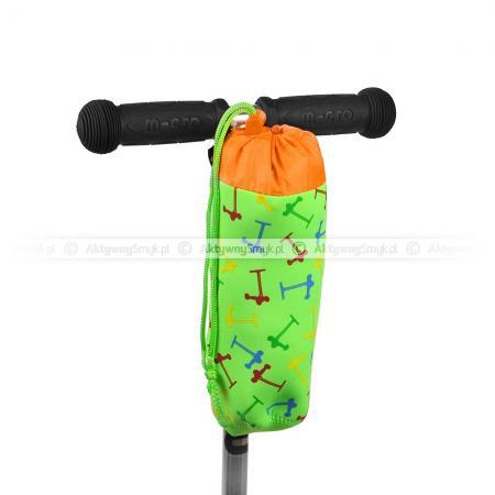 Pokrowiec Micro na butelkę green scooters