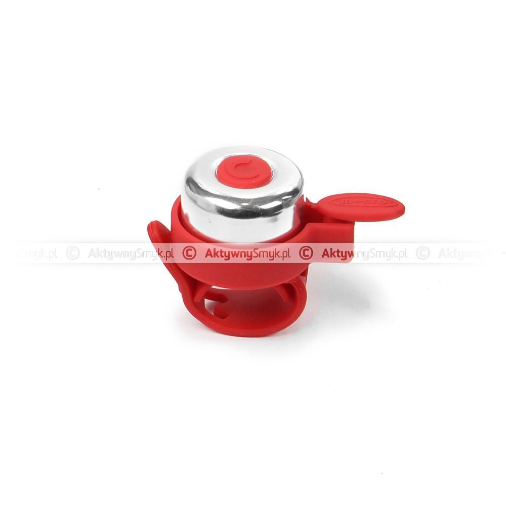 Dzwonek Micro czerwony