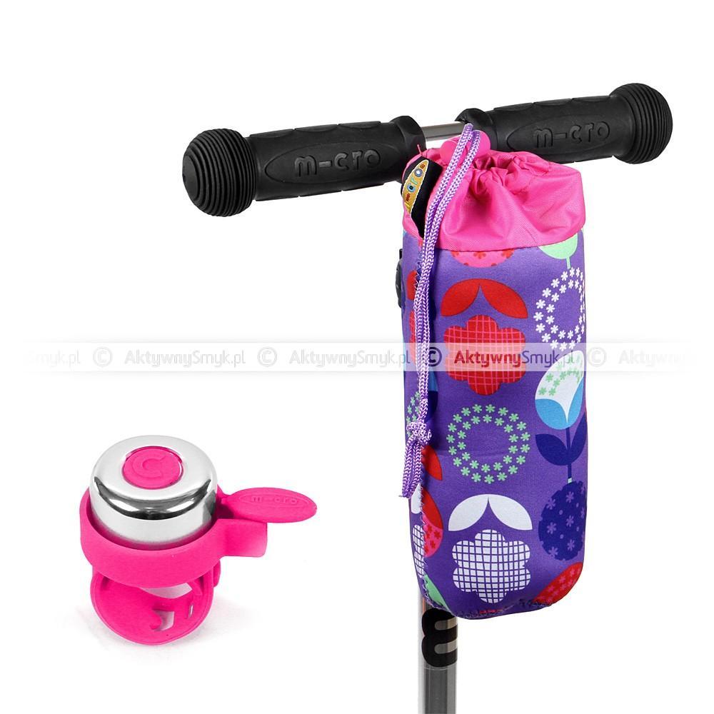 Pokrowiec Micro Floral Dot Purple i różowy dzwonek Micro