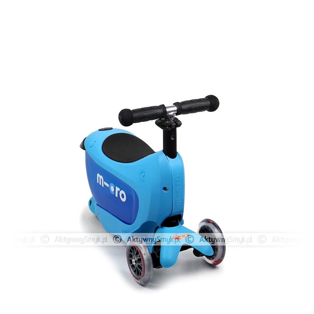 Micro Mini2Go Blue - jeździk i hulajnoga