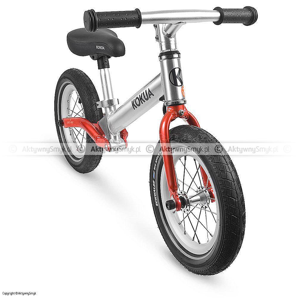 Rowerek bez pedałów LIKEaBIKE Jumper czerwony