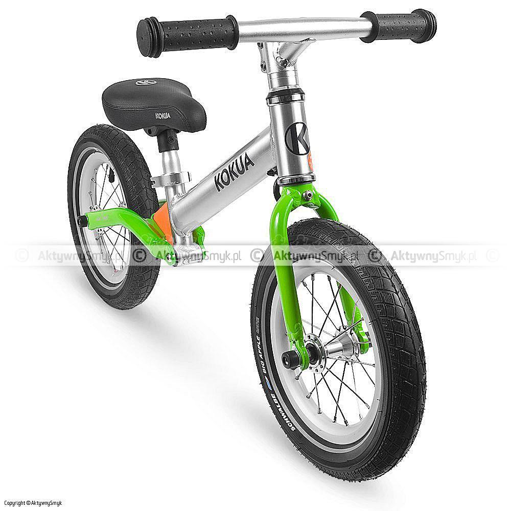 Rowerek bez pedałów LIKEaBIKE Jumper zielony