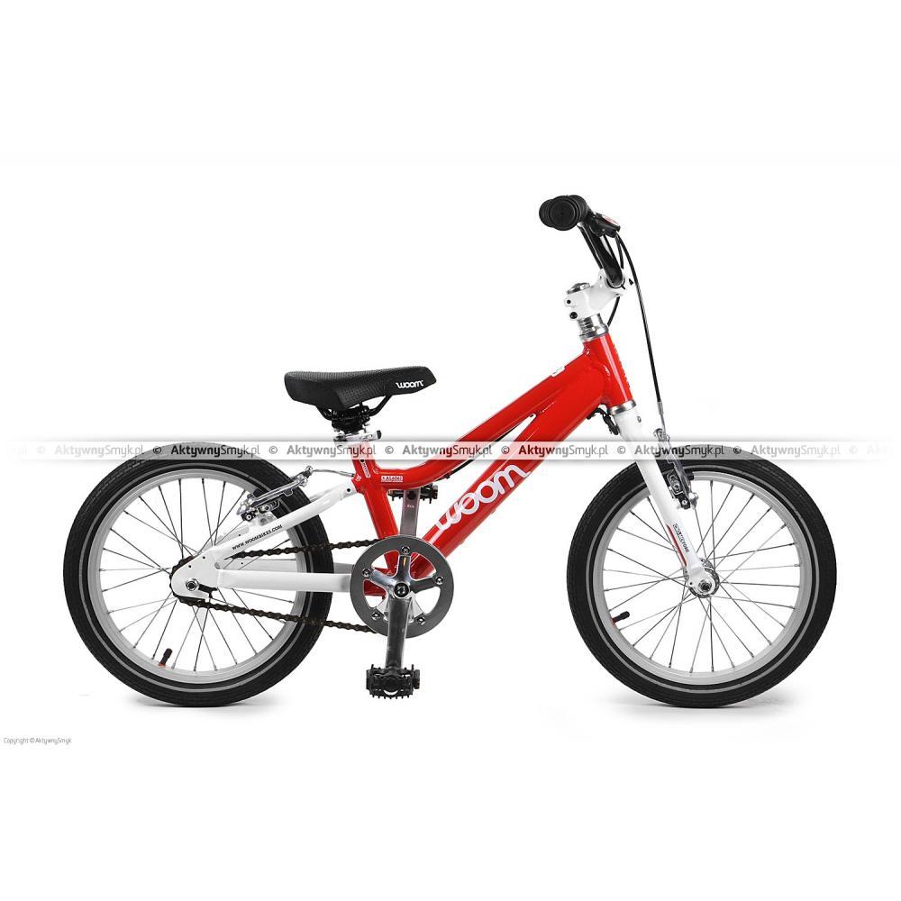 Rowerek Woom 3 czerwony