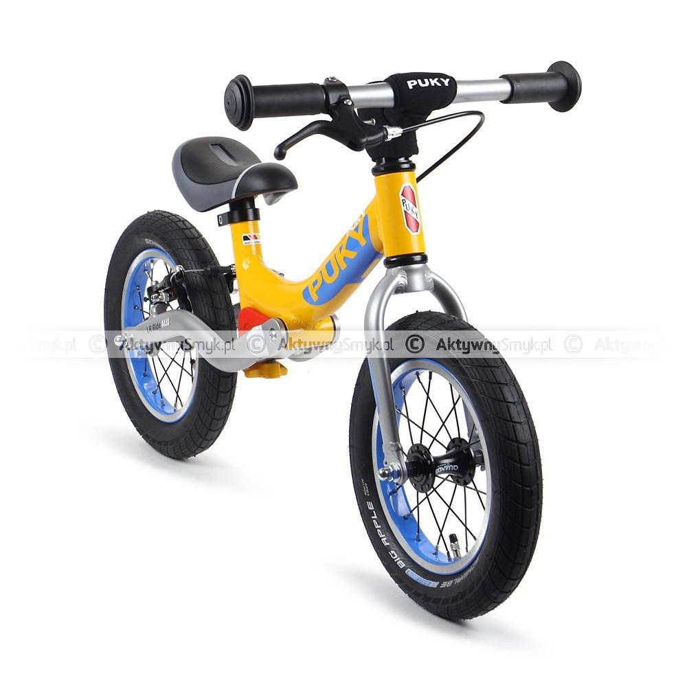 Amortyzowany rowerek biegowy Puky LR Ride pomarańczowy