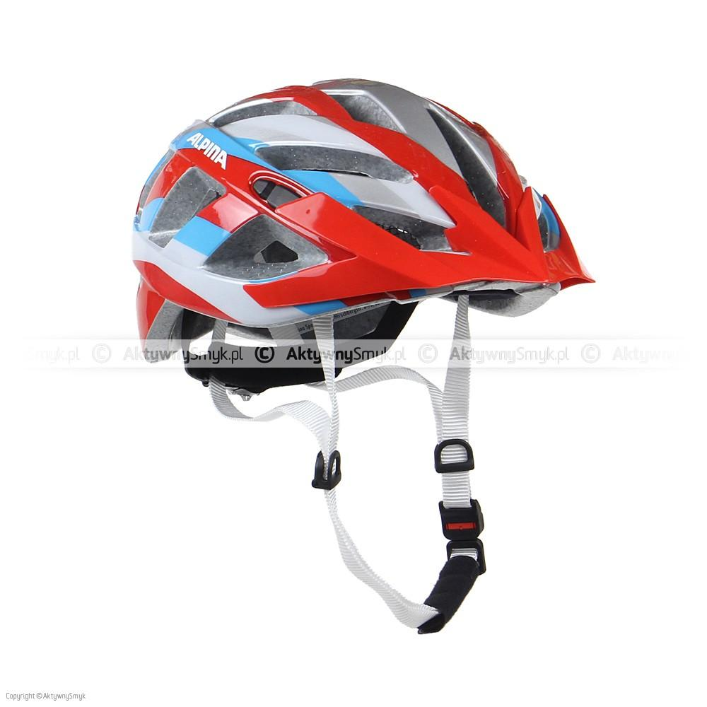 Kask Alpina Panoma red-silver-blue