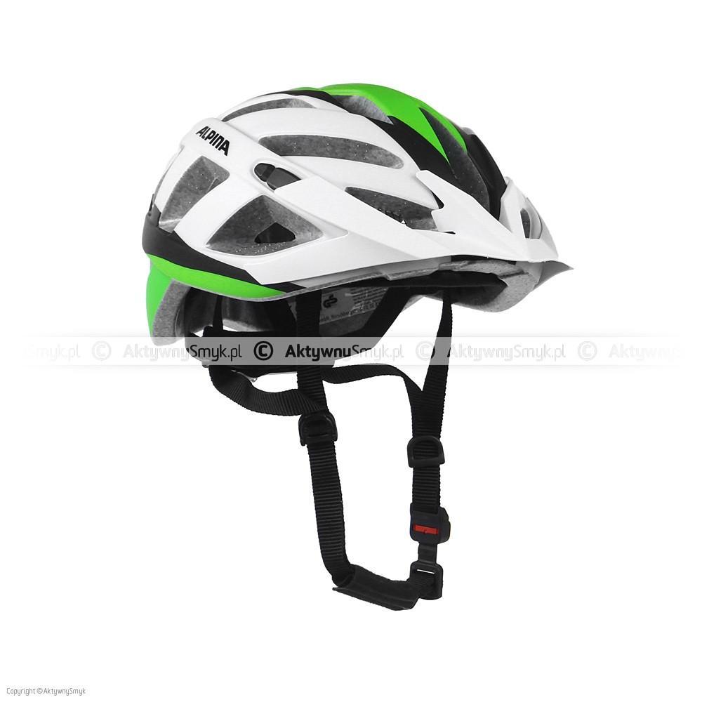 Kask Alpina Panoma LE white-green-black