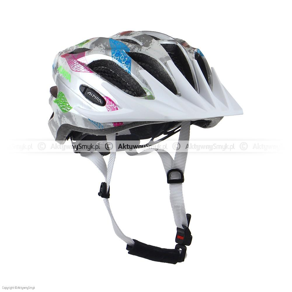 Kask Alpina FB Junior 2.0 Flash White-Silver Flags