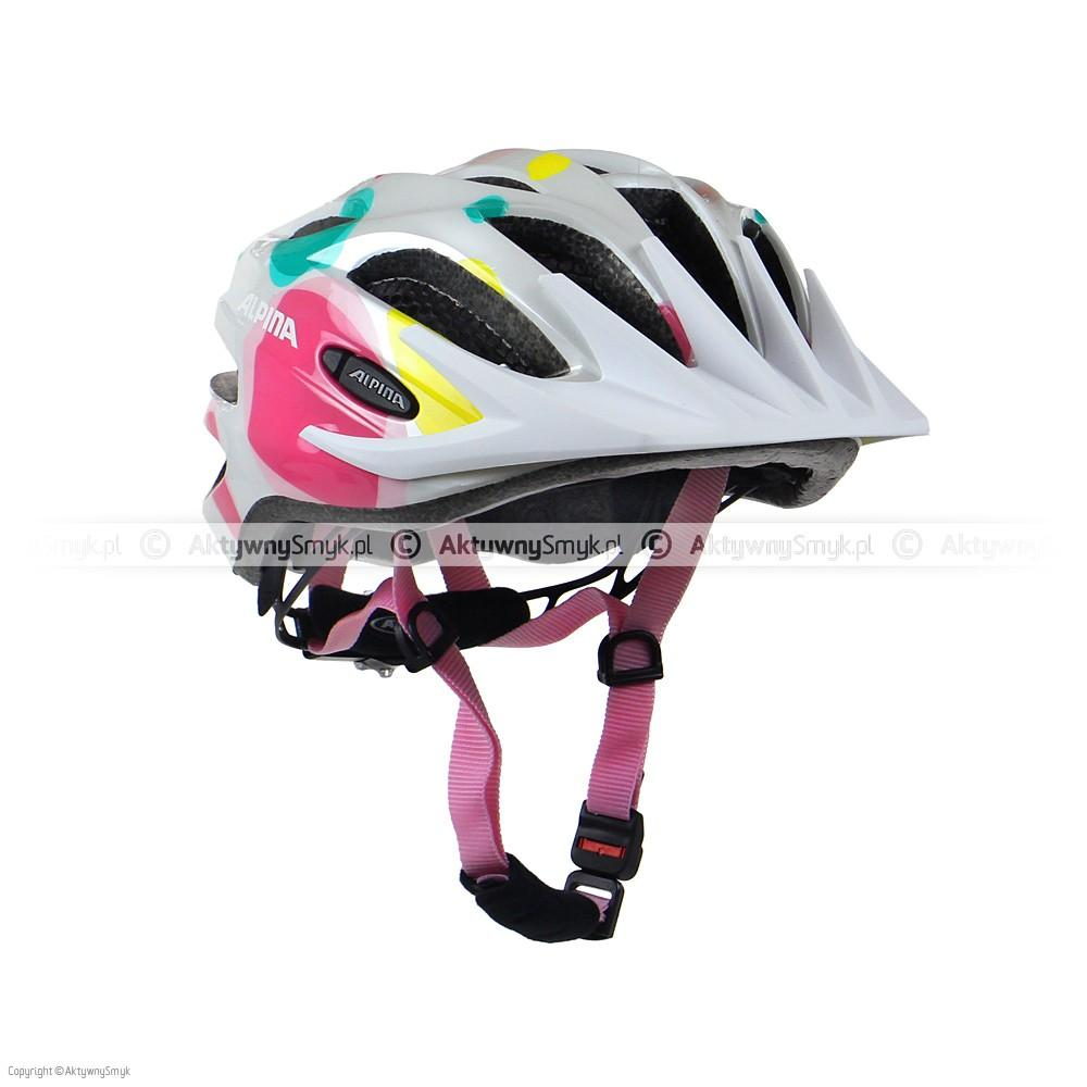 Kask Alpina FB Junior 2.0 White Dots