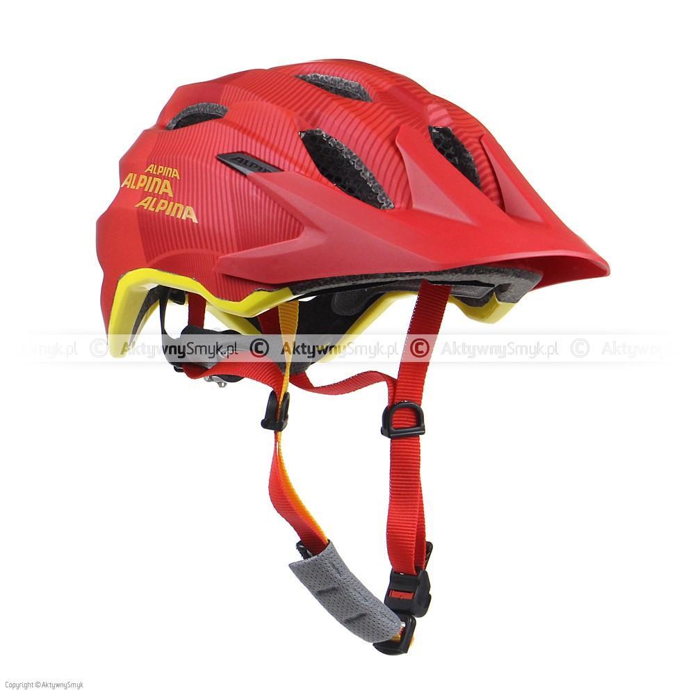 Kask Alpina Carapax Junior Flash Red-Orange