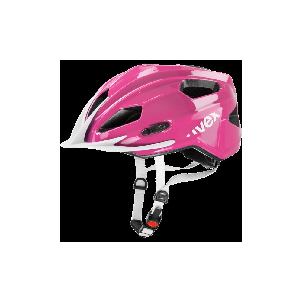 Kask Uvex Quatro Junior pink white