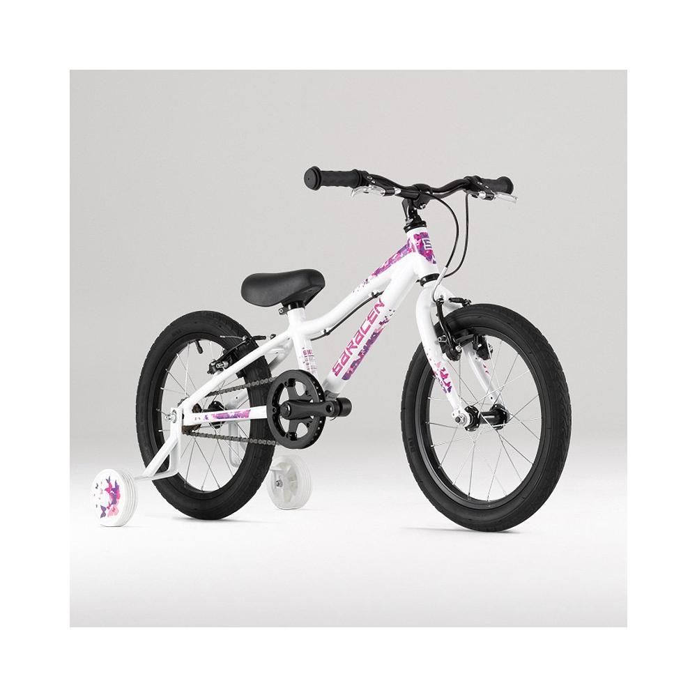 Rower Saracen Bella na kołach 16 cali, dla dziewczynki ok. 4 lat