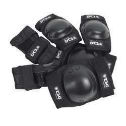 Ochraniacze TSG Junior Set Black