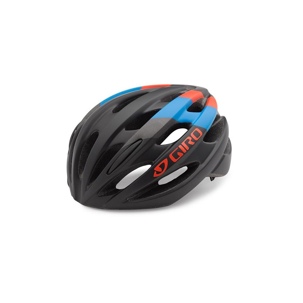 Kask Giro Tempest Mat Black - Glowing Red-Blue