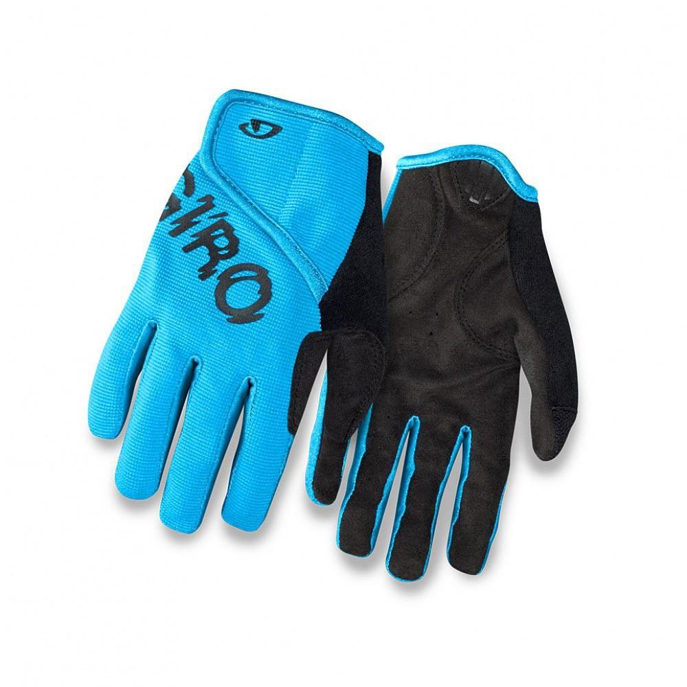 Rękawiczki rowerowe Giro DND Jr 2 Blue Jewel