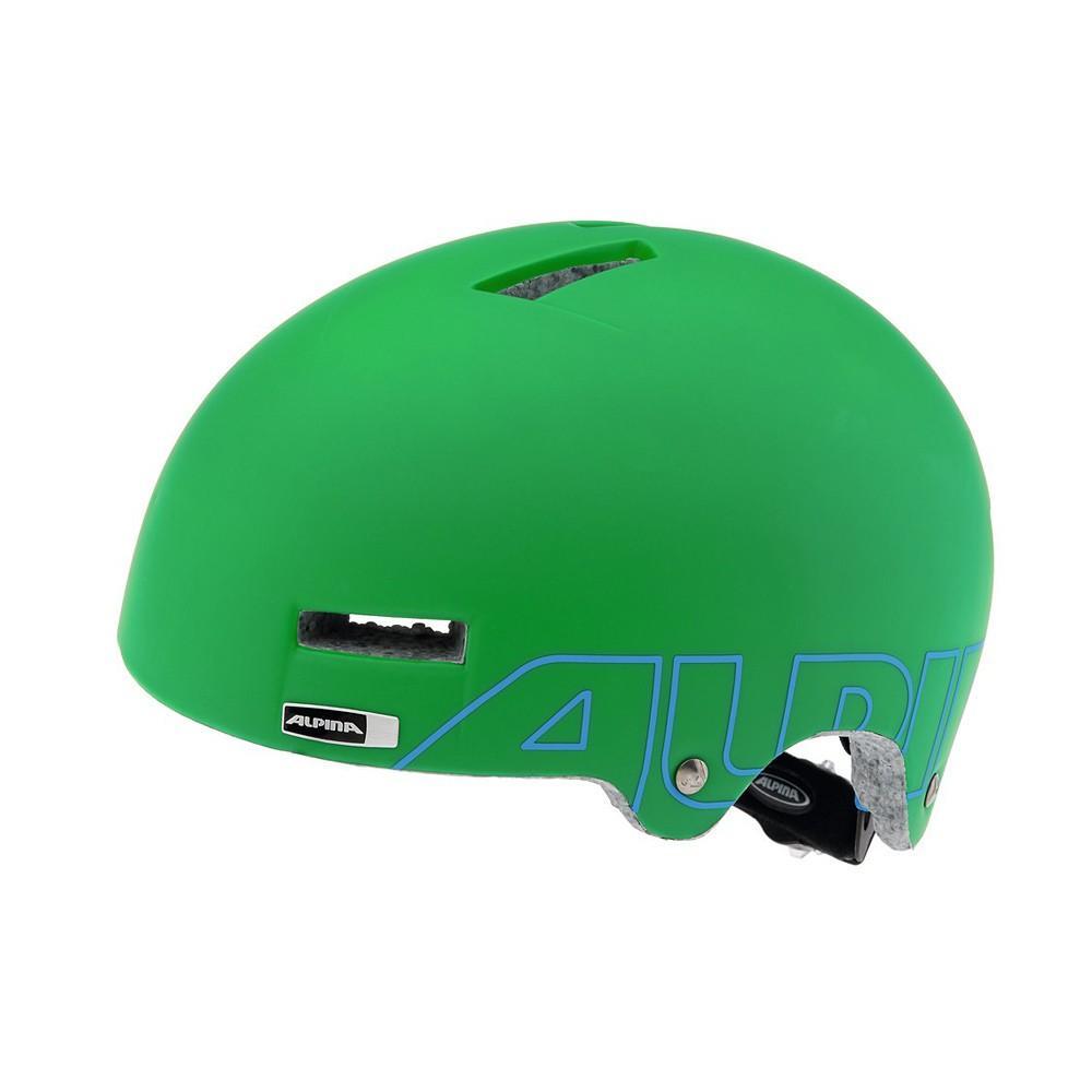 Lekki kask typu orzeszek Alpina Airtime Green