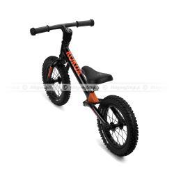 Amortyzowany rowerek biegowy LIKEaBIKE Jumper w kolorze czarnym