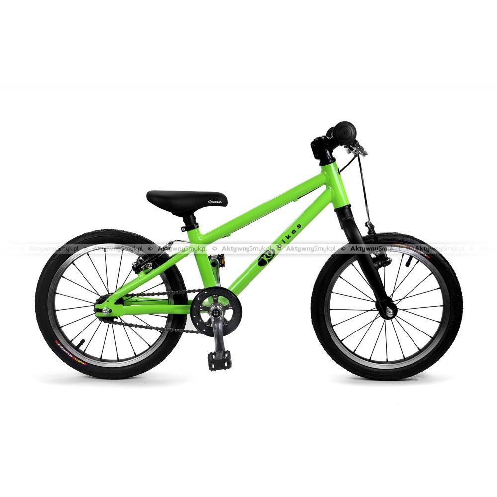 Lekki rower KUbikes 16 BASIC na kołach 16 cali, wolnobieg, 2 hamulce v-brake