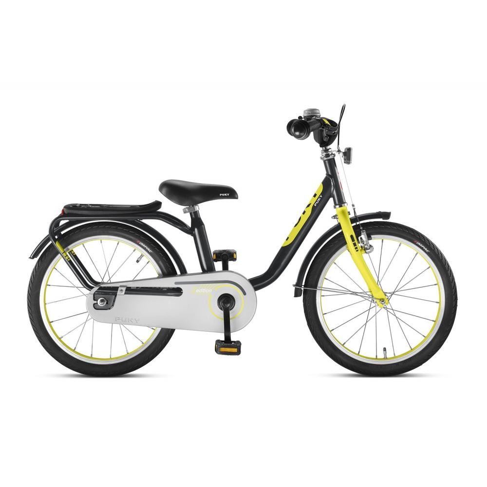 Rower Puky Z6 Anthrazit/Citron dla 4 latka, koło 16 cali