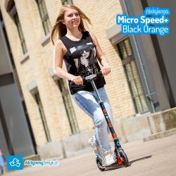 Hulajnoga Micro Speed+ Black Orange