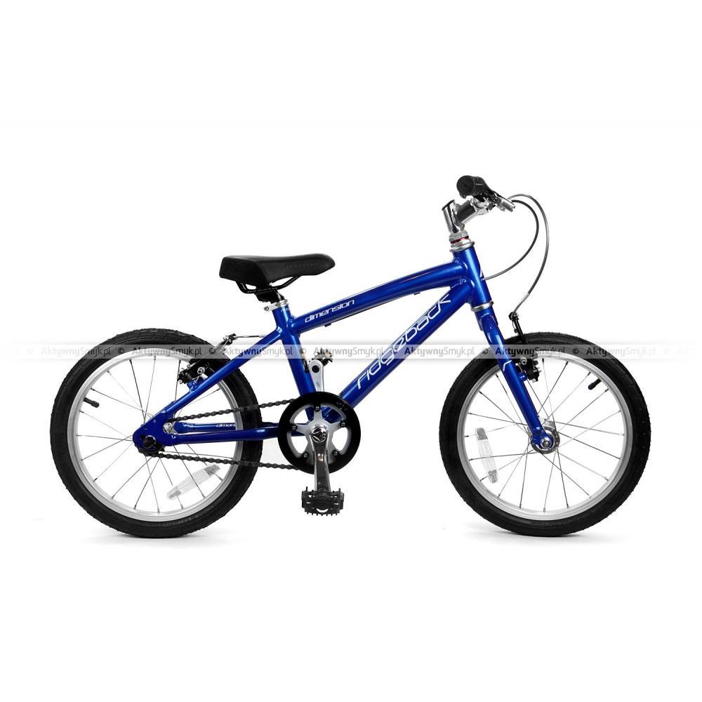 Lekki rower Ridgeback Dimension 16 Blue dla ponad 4 latka