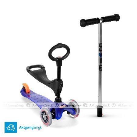 Mini Micro 3in1 (Baby Seat) - jeździk i hulajnoga Mini Micro niebieska